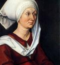 Portrait of Barbara Durer