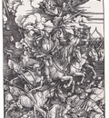 bs Albrecht Durer 4 Horsemen of the Apocalypse [1498]