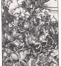 bs Albrecht Durer 4 Horsemen of the Apocalypse [1498]