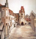 ls Durero 14El Patio del castillo de Innsbruck