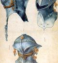 ls Durero 17Tres estudios de un casco