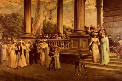 Dvorak Franz The Concert, Saratoga The Gay Nineties