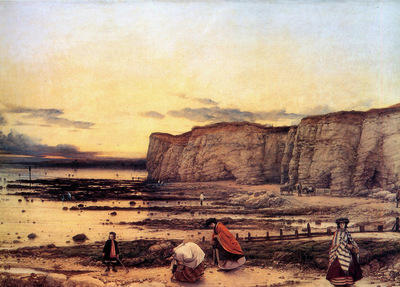 Dyce William The bay of Pegwell Sun