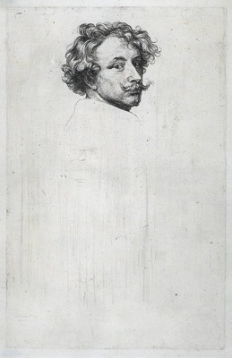 Dyck Anthony van Self portrait c1630