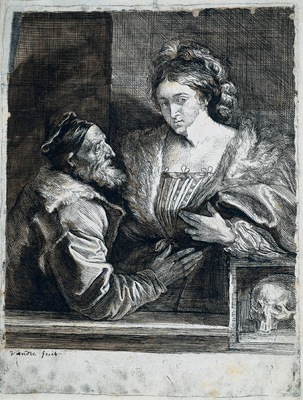Dyck Anthony van Titian s Self Portrait with a Young Woman