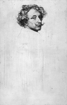 Dyck van Anthonie Self portrait Sun
