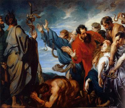 Dyck van Antoon Mozes and the brass snake Sun