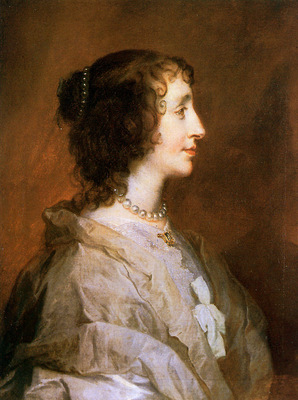 Dyck van Antoon Queen Henrietta Maria