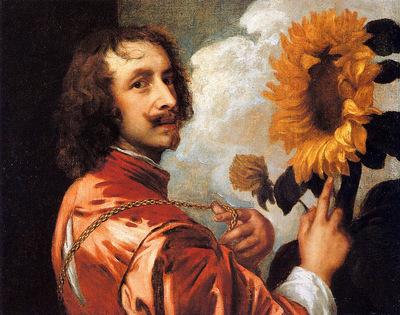 Dyck van Antoon Self portrait Sun