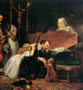 Dyck van Antoon Rubens mourning his wife Sun