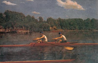 Eakins The Biglin Brothers Racing