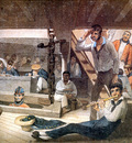 MPA Augustus Earle Midshipmens Quarters on board a ship of war, 1820 [ R ] sqs