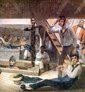 MPA Augustus Earle Midshipmens Quarters on board a ship of war, 1820 [ R ] sqs