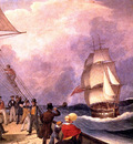 MPA Augustus Earle Speaking a Vessel Off the Cape of Good Hope, 1824 sqs