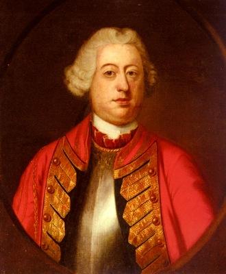 Eccard John Giles Portrait Of An Officer