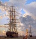 Eckersberg Christofer Russian ship of the line Asow Sun
