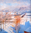 edelfelt albert paris in the snow sun
