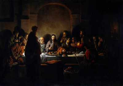 Eeckhout van den Gerbrandt The last supper Sun