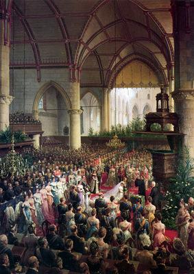 Eerelman Otto Marriage of Queen Wilhelmina