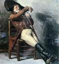 Eerelman Otto Resting soldier Sun