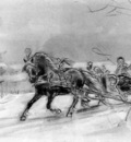 eerelman otto study for sledge ride
