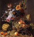Eliaerts Jan Frans Flowers in a vase Sun