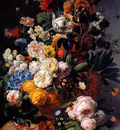 Eliaerts Jan Frans Flowers in a vase  Sun