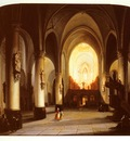 Elven Jan Baptiste Tetar van Interior Of A Church
