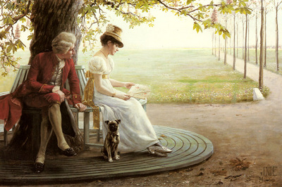 Ende Felix Friedrich Von Courtship
