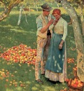 Erichsen, Nelly The Orchard detail end