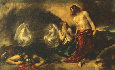 Etty William Christ Appearing to Mary Magdalene after the Resurrection