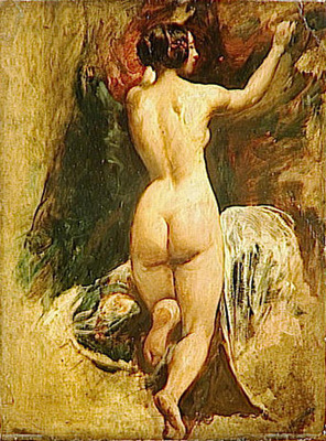Etty William Nude Woman from Behind