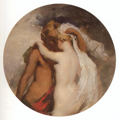 Etty William Nymph and Satyr