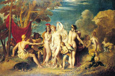 Etty William The Judgement of Paris