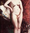 Etty Standing Nude