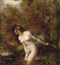Etty William Musidora The Bather