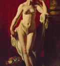 Etty William Standing Female Nude