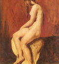 Etty William Study Of A Female Nude