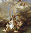 Etty William Youth at the Prow Pleasure at the Helm