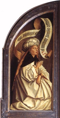 Eyck Jan van The Ghent Altarpiece Erythraean Sibyl