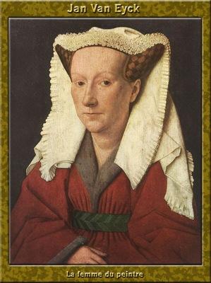 PO Vp S1 23 Jan Van Eyck La femme du peintre