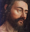 eyck jan van the ghent altarpiece adam detail