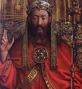 Eyck Jan van The Ghent Altarpiece God Almighty detail