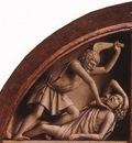 Eyck Jan van The Ghent Altarpiece The Killing of Abel