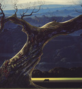 bs Eyvind Earle Towering Oak