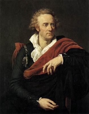 FABRE Francois Xavier Portrait Of Vittorio Alfieri