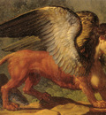 Oedipus and the Sphinx detail