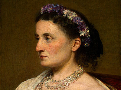 Fantin Latour Duchess de Fitz James 1867 detail1