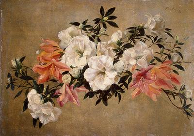 Fantin Latour Petunias