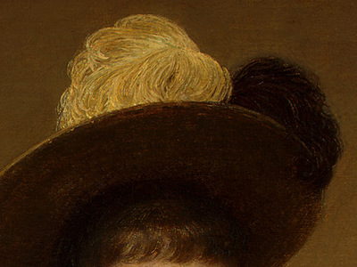 Fantin Latour Portrait of Sonia 1890 detail4